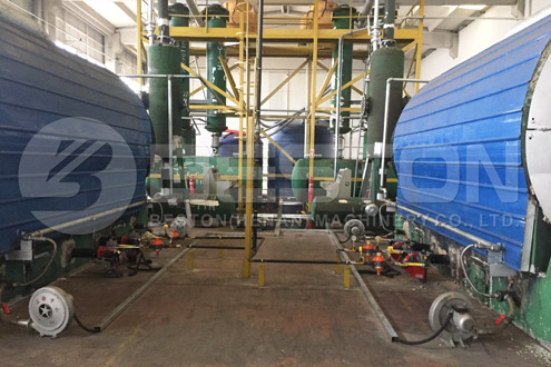 What Are The Benefits Of Scrap Tyre Pyrolysis Plant -