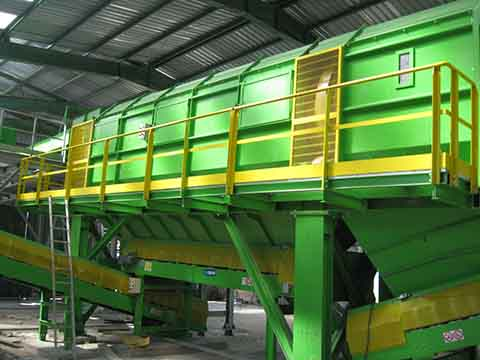 Waste garbage sorting plant supplier