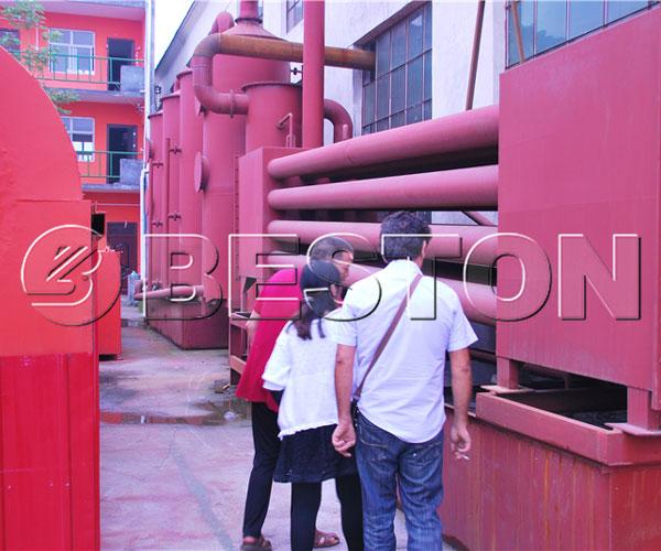 Beston Biomass Carbonization Machine for Sale
