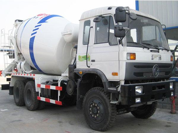 transit mixer truck
