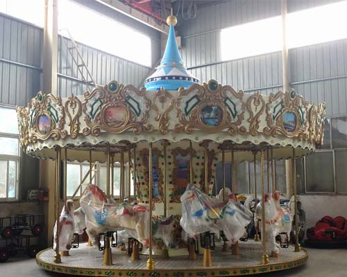 Buy carousel attraction from China