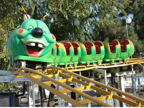 mini roller coaster ride for children