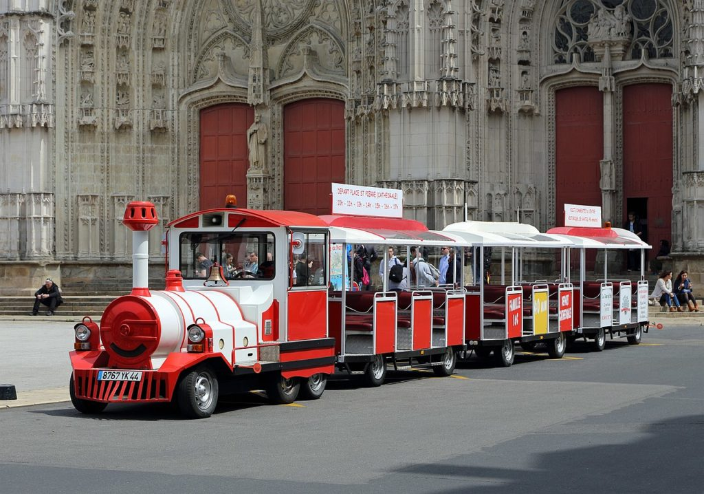 Tourist Trackless Train for Park