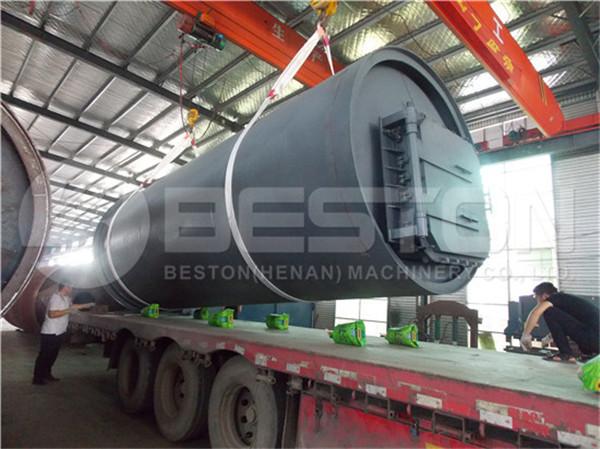 Waste Pyrolysis Machine to South Africa